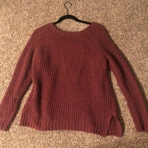 Dark pink/ magenta sweater from American Eagle